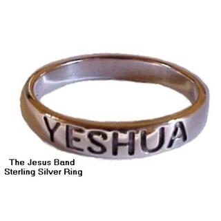 JESUS Yeshua Sterling Silver Ring