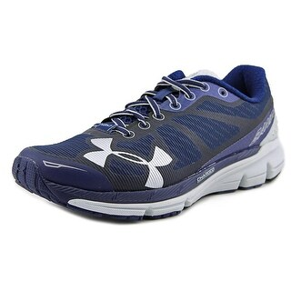 Under Armour Charged Women Round Toe Synthetic Blue Running Shoe