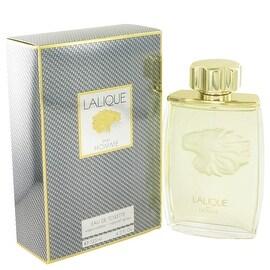 LALIQUE by Lalique Eau De Toilette Spray (Lion) 4.2 oz - Men