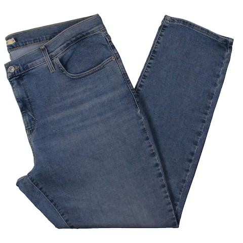 Levi's Womens Plus Skinny Jeans Slimming Medium Wash - Blue