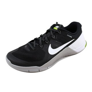 Nike Men's Metcon 2 Black/White-Wolf Grey-Volt 819899-001