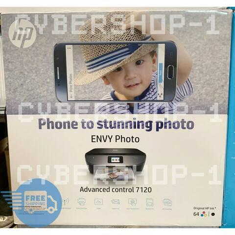 HP ENVY Photo 7120 All-in-One Printer (Z3M37A) - Black