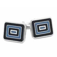 The Blues And Squares Cufflinks