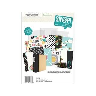 Simple Stories Carpe Diem Snap Journal Page