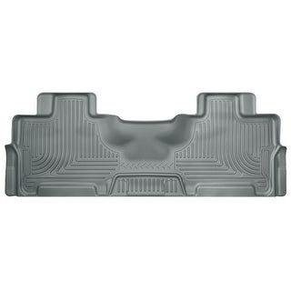 Husky Weatherbeater 2012-2016 Ford Expedition EL Limited 2nd Row Grey Rear Floor Mats/Liners