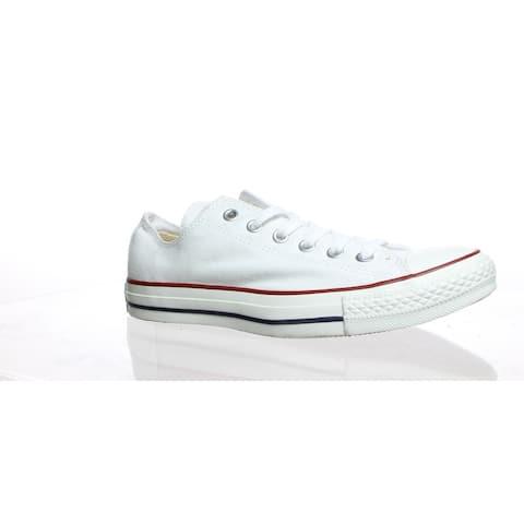Converse Mens Chuck Taylor Optical White Skateboarding Shoes Size 7