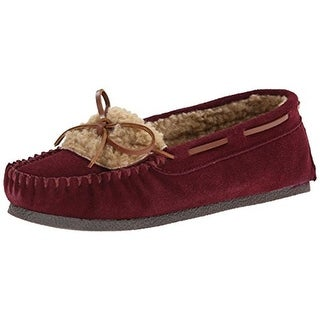 Clarks Womens Loafers Suede Contrast