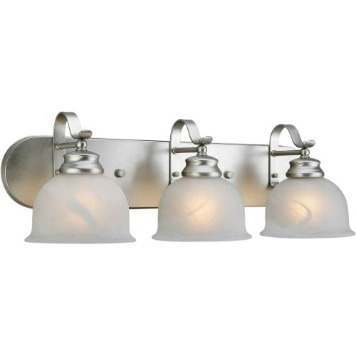 "Forte Lighting 5095-03 3 Light 24"" Wide Bathroom Fixture"