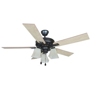 "Design House 154245 Torino 52"" 5 Blade Hanging Ceiling Fan"