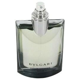 Bvlgari Pour Homme Soir by Bvlgari Eau De Toilette Spray (Tester) 3.4 oz - Men