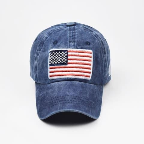 Usa Flag Messy Cap