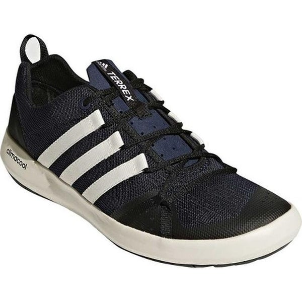 brand new 8f6ec 847a3 adidas Menx27s Terrex Climacool Boat Shoe Collegiate NavyChalk White