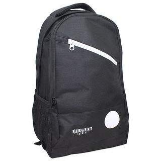 Backpack Black W/ 2 Large Zipper