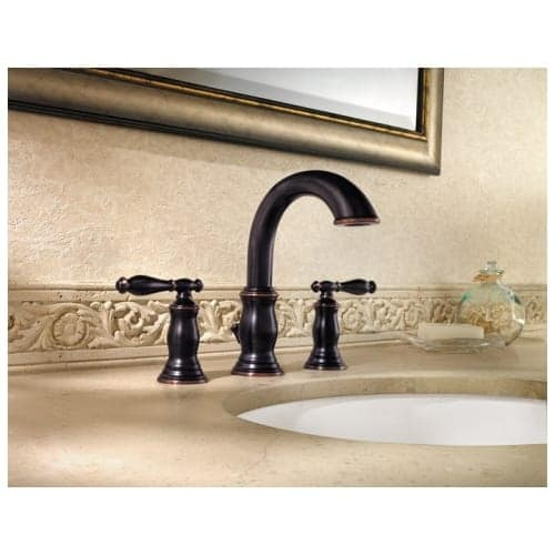 Shop Pfister LF 049 TM Hanover Widespread Bathroom Sink Faucet   Free  Shipping Today   Overstock.com   16323041