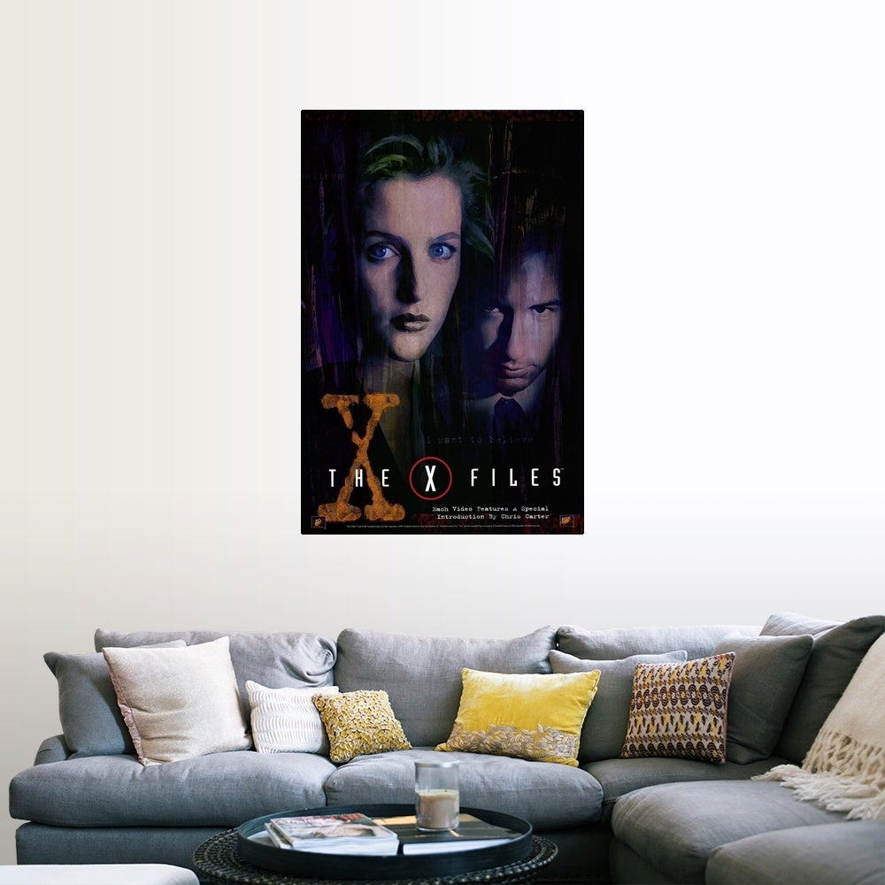 Shop The X Files 1998 Poster Print Overstock 24132795
