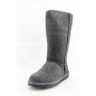 BEARPAW Women's Elle Tall Fashion Boot, Charcoal, 10 M US