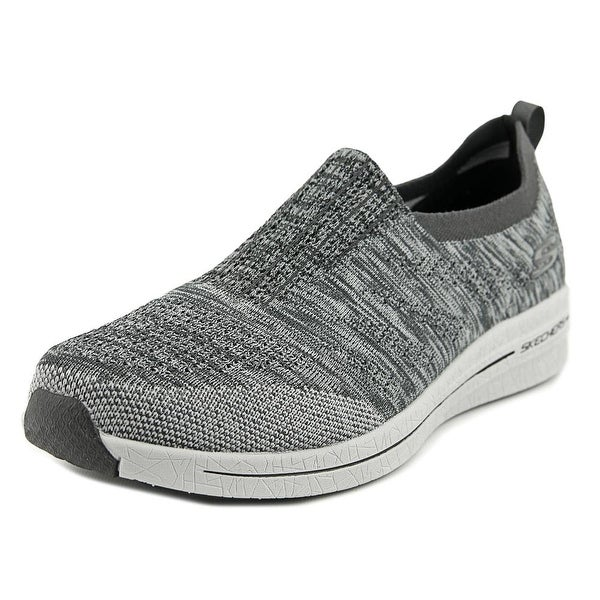 b208c9319aa2 Shop Skechers Burst 2.0 Haviture Men Round Toe Canvas Gray Sneakers ...