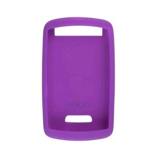 Silicone Skin Case for BlackBerry 9530 Storm (Purple)