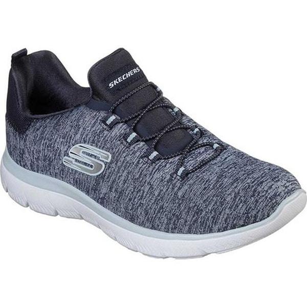 489245a9bb7a Shop Skechers Women s Summits Quick Getaway Sneaker Navy Light Blue ...