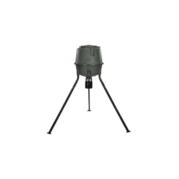 Moultrie MFG-13062 Elite Tripod Deer Feeder with Programmable Digital Timer & ABS Plastic Housing