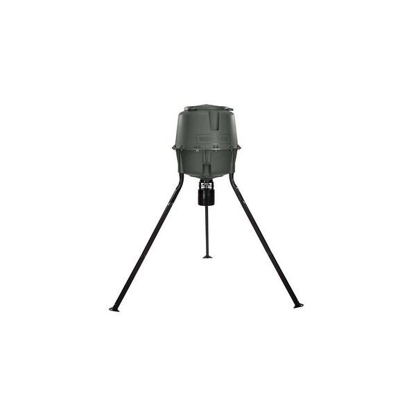 Moultrie MFG-13062 Elite Tripod Deer Feeder with Programmable Digital Timer & ABS Plastic Housing