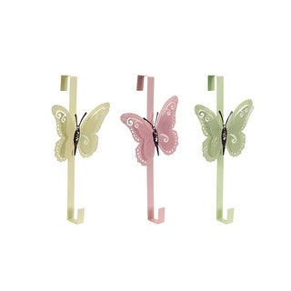 """Pack of 6 Easter and Springtime Soft Pastel Butterfly Door Hangers 21"""""""