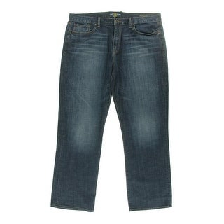 Lucky Brand Mens 367 Faded Sandblasted Bootcut Jeans - 31/30