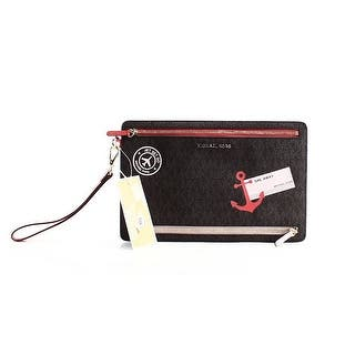 Michael Kors NEW Brown PVC Illustrations Sail Away Mimosa Clutch Purse|https://ak1.ostkcdn.com/images/products/is/images/direct/f5ff0ed83dde86def99530cf87cf9985e3822dd0/Michael-Kors-NEW-Brown-PVC-Illustrations-Sail-Away-Mimosa-Clutch-Purse.jpg?impolicy=medium