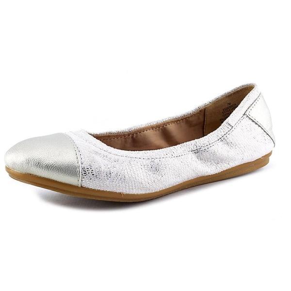Easy Spirit e360 Gessica Round Toe Canvas Ballet Flats