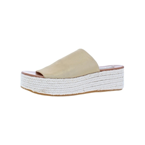 3068eb897f14 Shop Steve Madden Womens Sneaky Platform Sandals Espadrille Open Toe ...