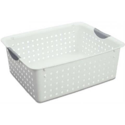 Sterilite 16268006 Large Ultra Basket, White
