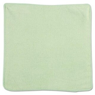 Rubbermaid Commercial 12 x 12 in. Microfiber Cleaning Cloths - Green