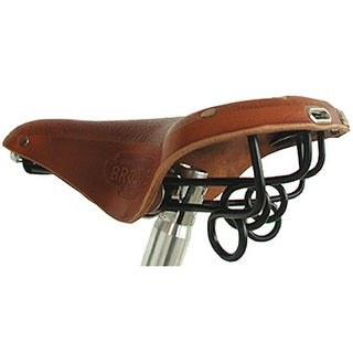Brooks B72 City/Touring Bicycle Saddle - Antique Brown