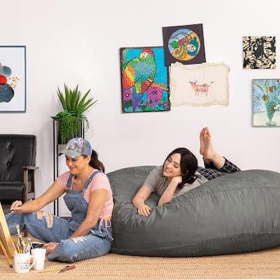 Jaxx 6' Cocoon Bean Bag Sofa