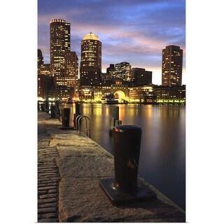 """Boston, Massachusetts"" Poster Print"