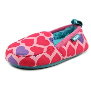 Chooze Snooze Toddler Round Toe Canvas Slipper