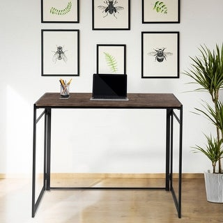Link to Home Office Folding Computer Desk - Laptop Desk Similar Items in Desks & Computer Tables