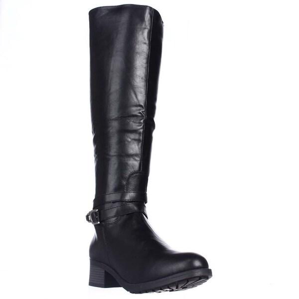 Rampage Imelda Knee-High Riding Boots, Black