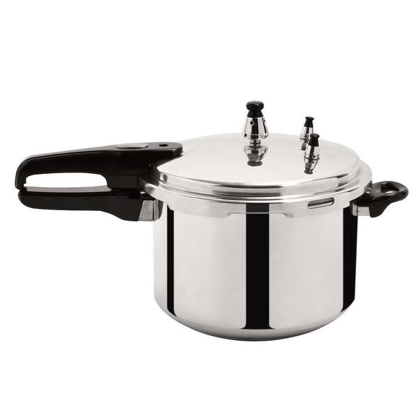 New 6-Quart Aluminum Pressure Cooker Fast Cooker Cookware Kitchen