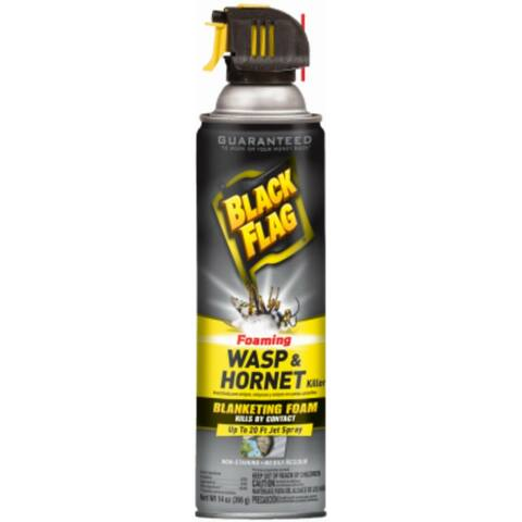 Black Flag HG-11089 Foaming Wasp & Hornet Killer Spray, 14 Oz Aerosol