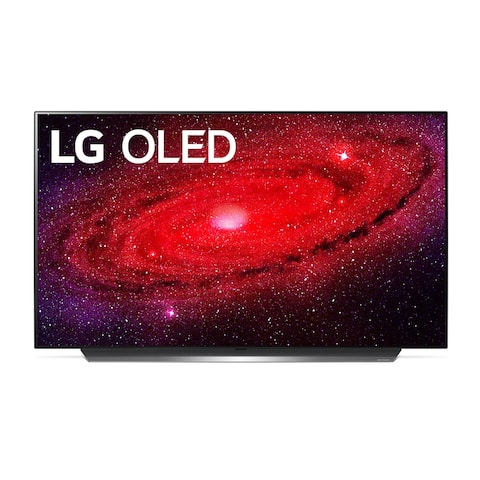 LG CX 77 inch Class 4K Smart OLED TV w/ AI ThinQ® (76.7'' Diag) - Black - 60 Inches & Over