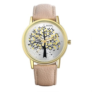 Mother's Nature Tree of Life Watch- Coral