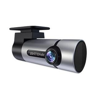 Kanstar AntDisk Dash Cam Full HD 1080P with Super Night Vision Car DVR Dashboard Recorder G-Sensor Built-in WIFI&GPS