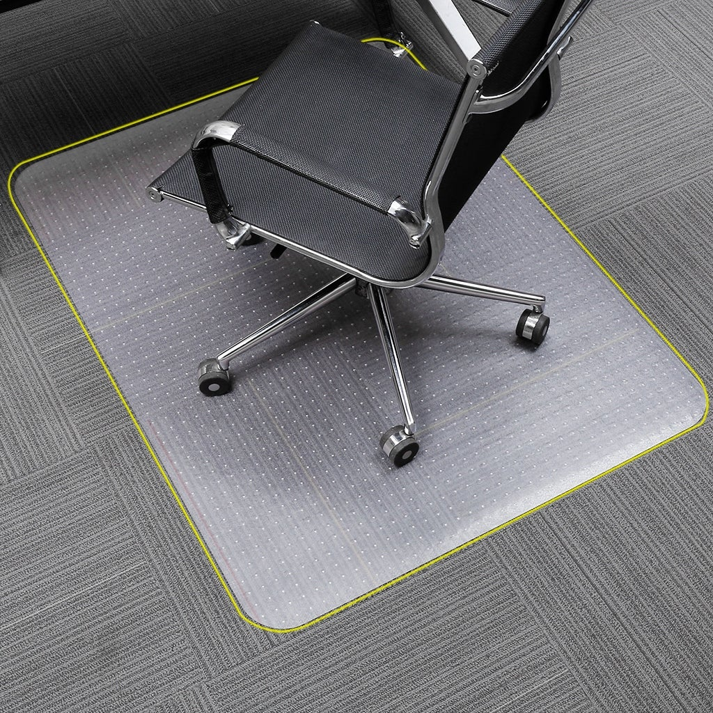 HEAVY OFFICE COMPUTER CHAIR CARPET//HARD FLOOR PROTECTOR MAT NON SLIP RECTANGLE