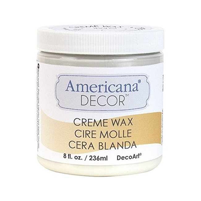 Deco art adm0136 americana decor creme wax 8oz clear