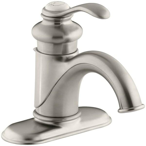 Shop Kohler K 12181 Fairfax Single Hole Bathroom Faucet Free Metal