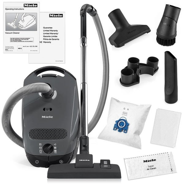 Shop Miele Classic C1 Pure Suction Canister Vacuum Cleaner
