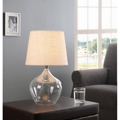 "Prickle 16.75"" Glass Accent Lamp"