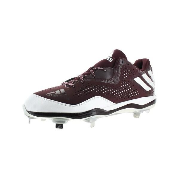 Adidas Mens PowerAlley 4 Cleats Baseball Shimmer