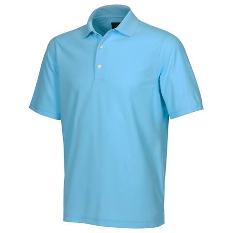 Greg Norman ProTek Micro Pique Solid Golf Shirt **Closeout**